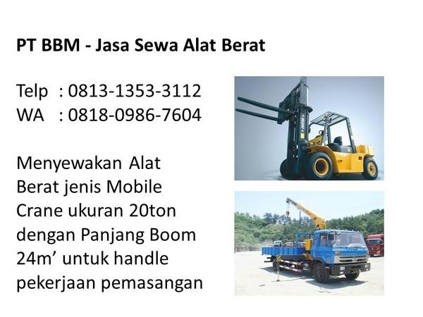 Harga Sewa Alat Berat Bandung Dan Jakarta 2019 Telp 0813 1353 3112 Jasa Rental Alat Berat Bandung Jakarta Wa 0818 0986 7604